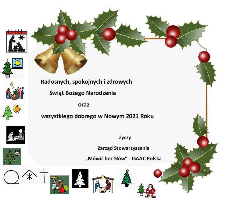 Życzenia bożonarodzeniowe / noworoczne