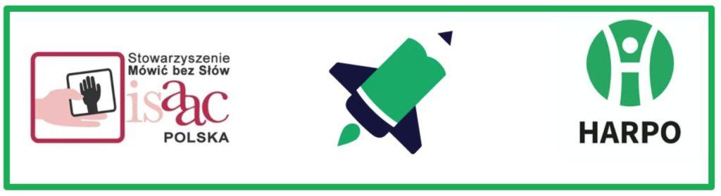 Belka z logotypami