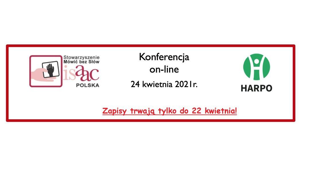 """""""Język polski w AAC.  Budowanie wypowiedzi w programach do komunikacji."""" – Zapisy trwają do 22 kwietnia!!!"""