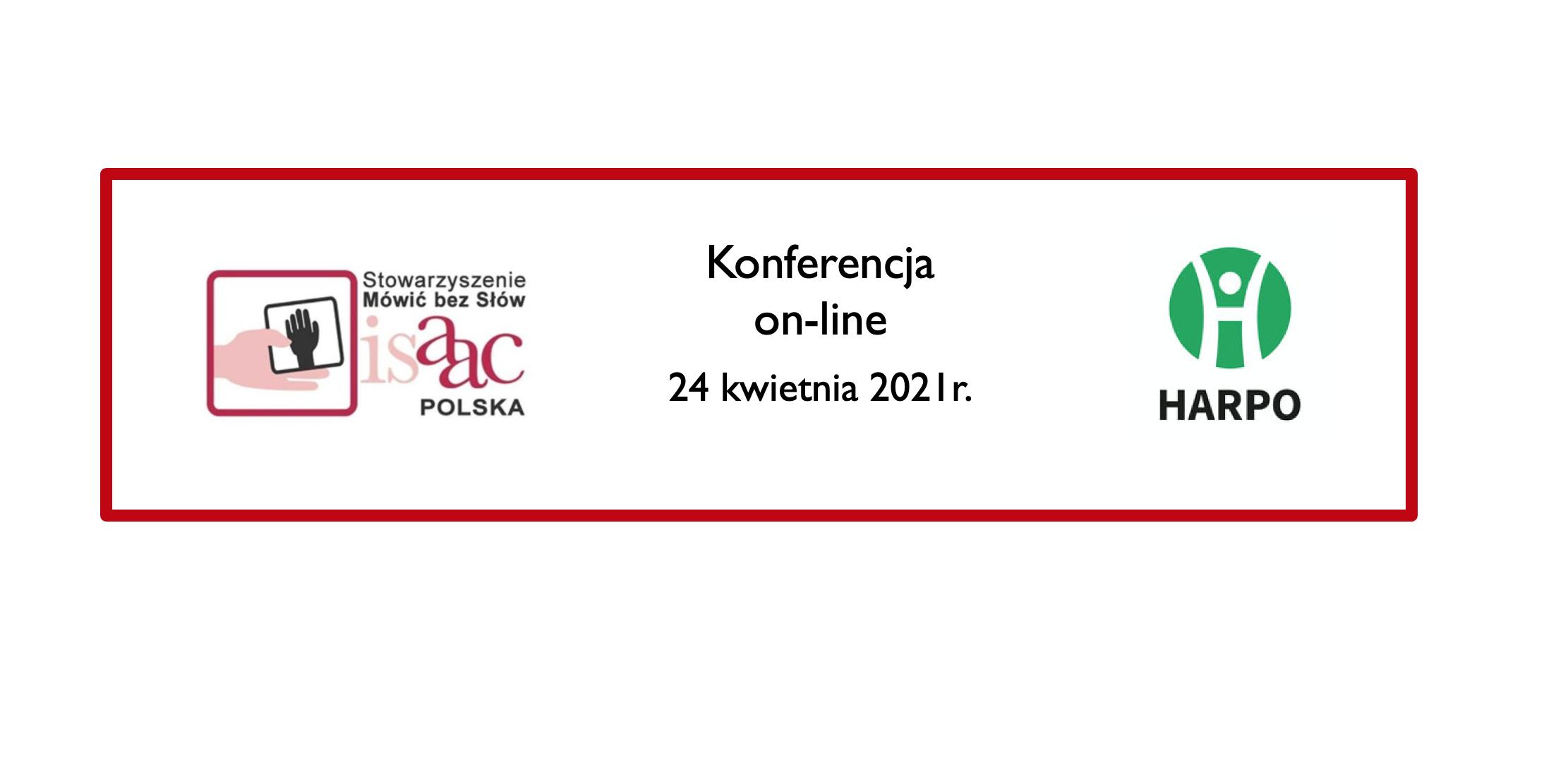 Baner  z logotypami organizatorów konferencji.